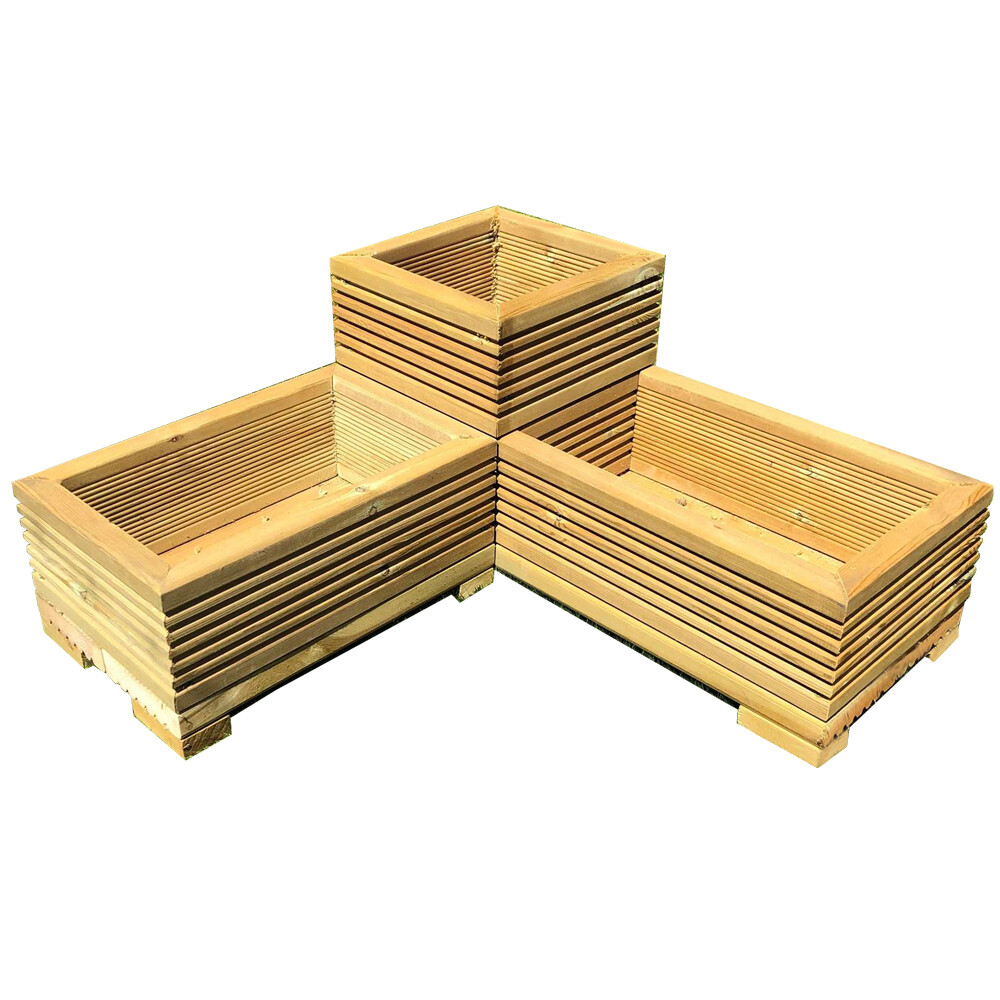 Corner Deck Planter