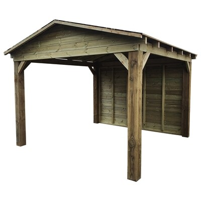 Timber Gazebo with apex roof (3x3m)