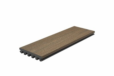 Toasted Sand - Trex™ Enhance Naturals Deck board (Grooved)(25x140mm) - 3.6m Lengths