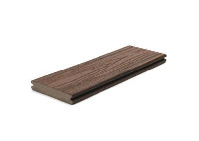 Lava Rock - Trex™ Transcend Deck board (Grooved)(25x140mm) - 3.6m Lengths