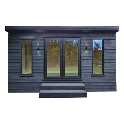 Luxury Garden Room in Black (5x3m)