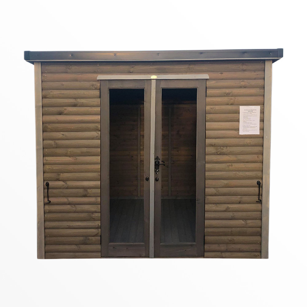 Insulated Charcoal Grey Cabin 10x6'