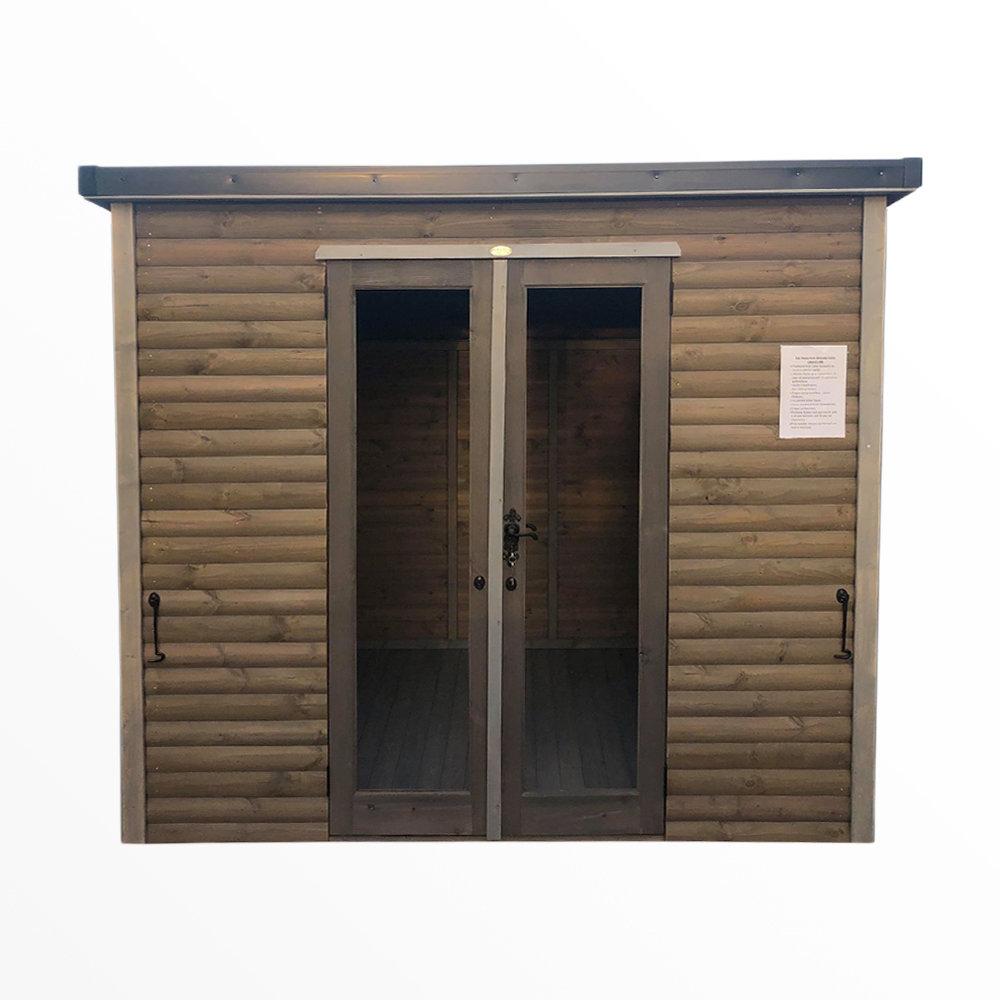Washed Grey Cabin 12x8'