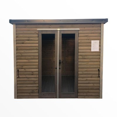 Insulated QShades Cabin 12x8'
