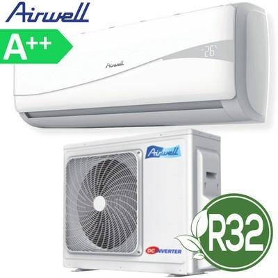 Climatizzatore condizionatore inverter HKD AirWell 9000 btu R32 classe A++ compreso installazione