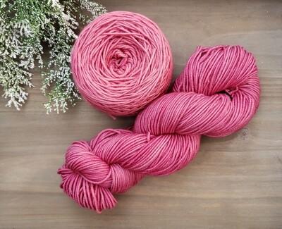 Blush Pink Hand Dyed Yarn