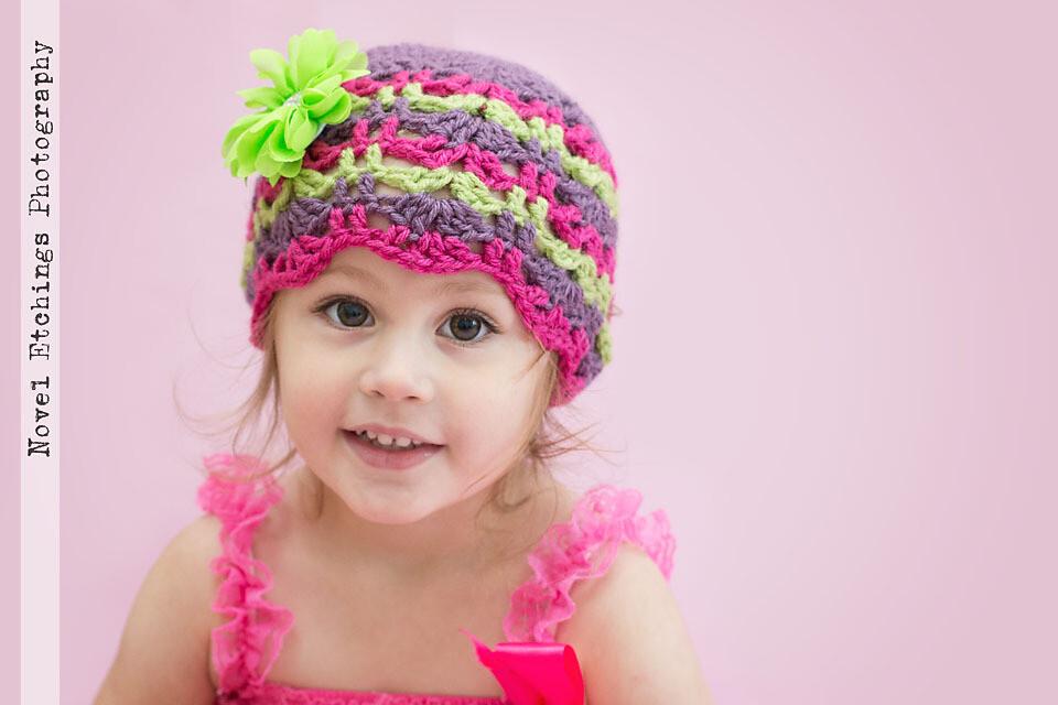 Audrey Beanie Crochet Pattern