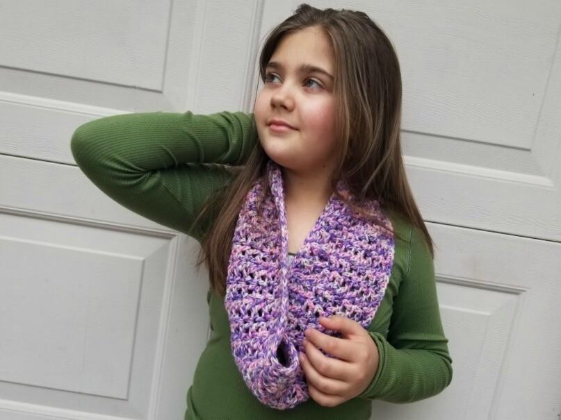 Ava Cowl Crochet Pattern