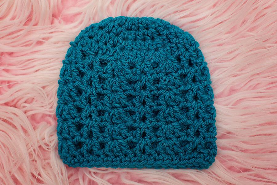 Blue Ivy Beanie Crochet Pattern