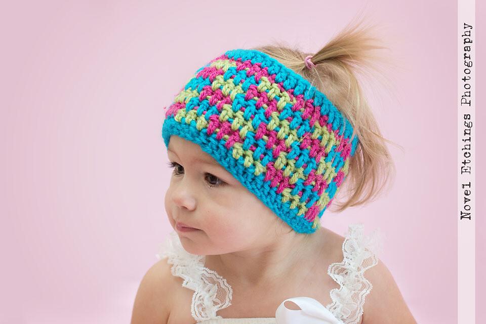 Brick by Brick Ear Warmer Crochet Pattern