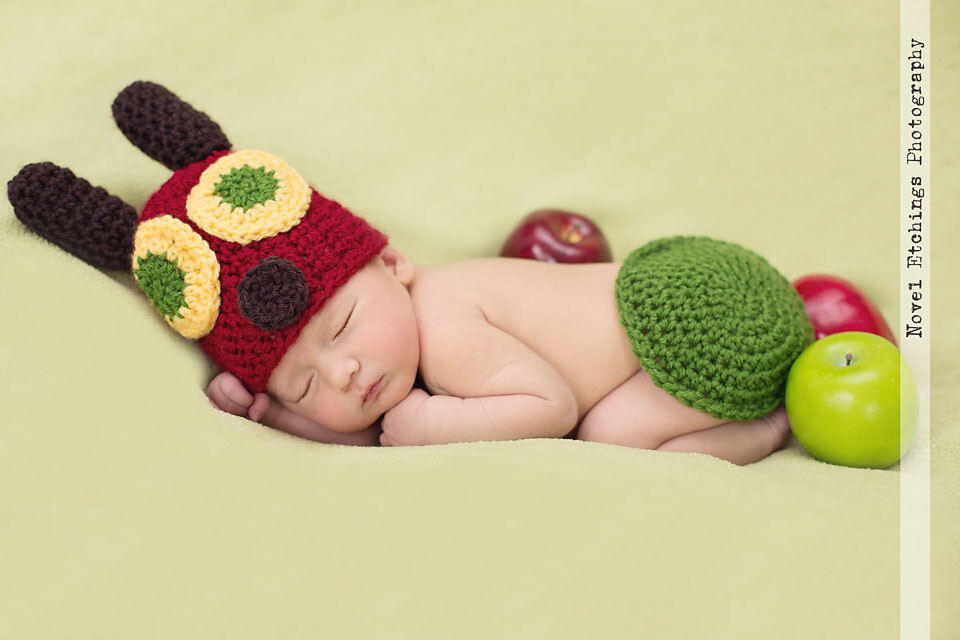 Caterpillar Baby Crochet Pattern