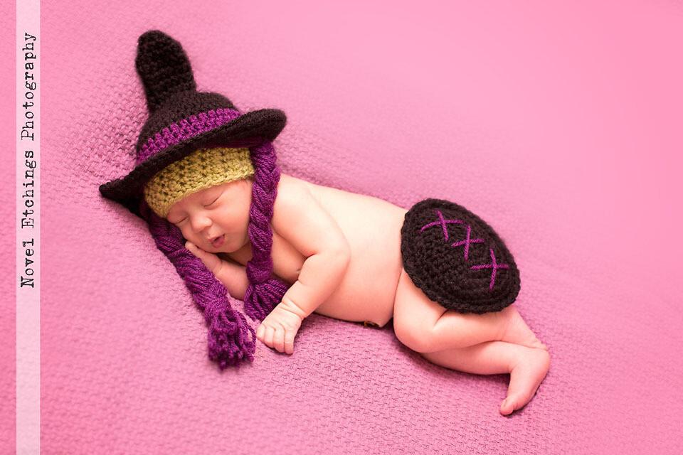 Cutest Witch Baby Crochet Pattern