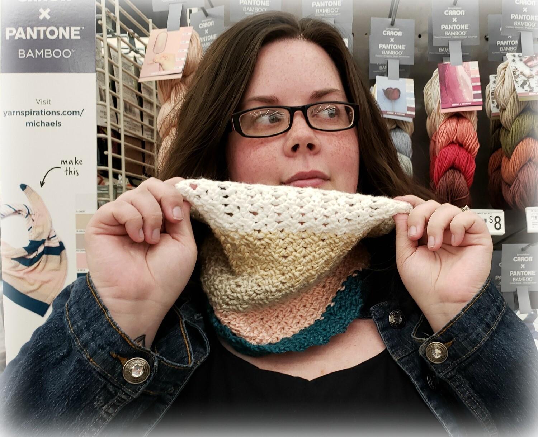 Desert Sky Cowl Crochet Pattern