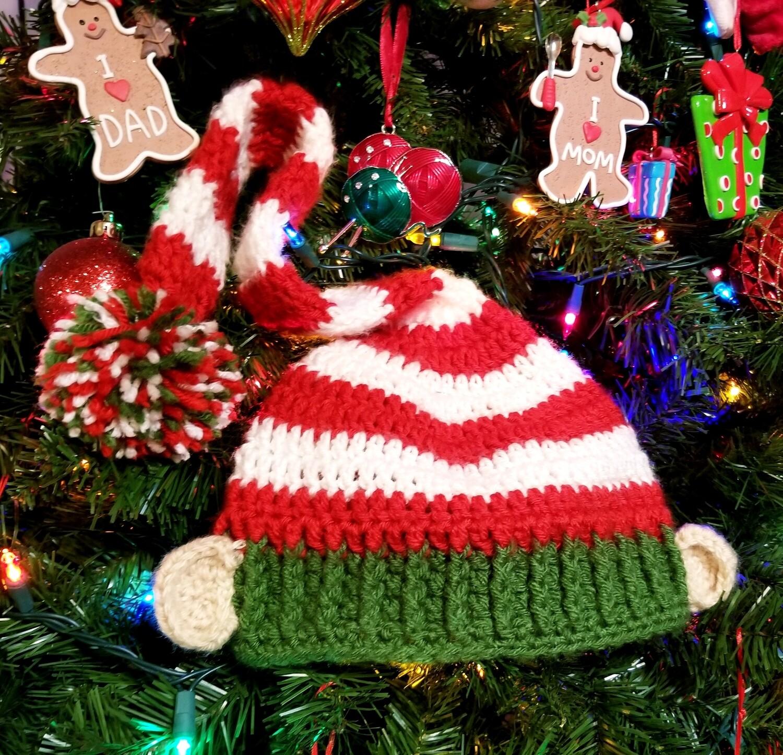 Elf Hat Crochet Pattern