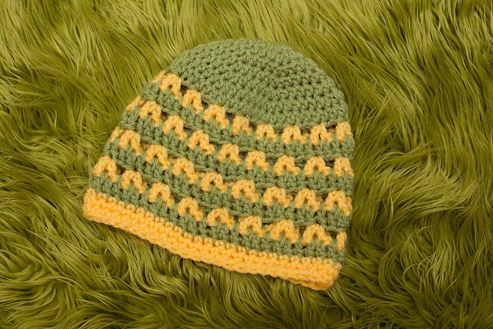 Emma Beanie Crochet Pattern