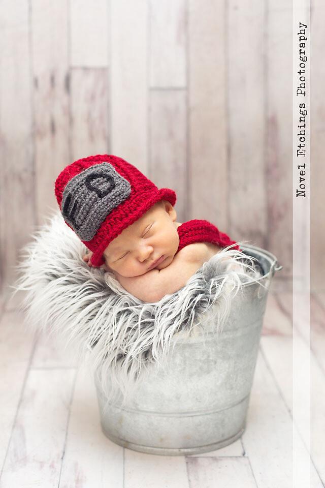 Fireman Baby Crochet Pattern