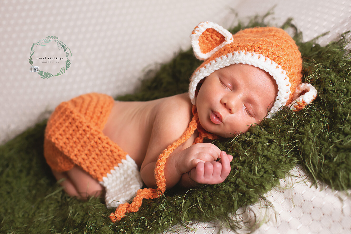 Fox Baby Crochet Pattern