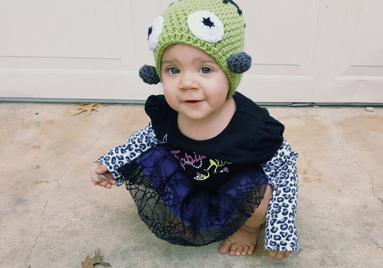 Frankenstein Beanie Crochet Pattern