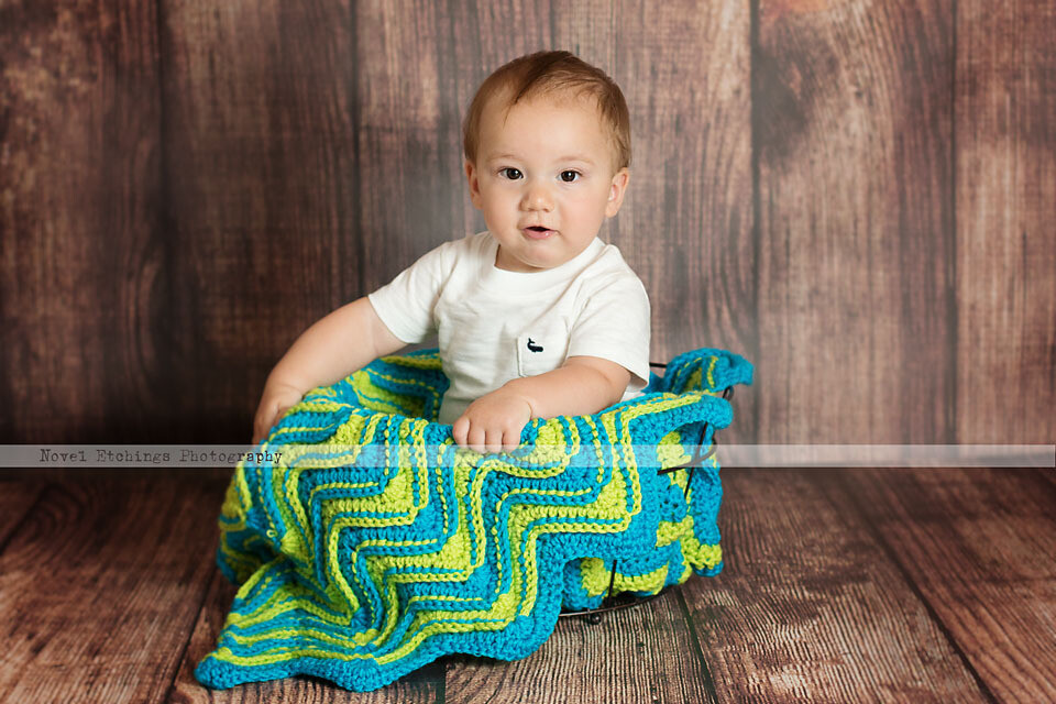 Fusion Ripple Blanket Crochet Pattern