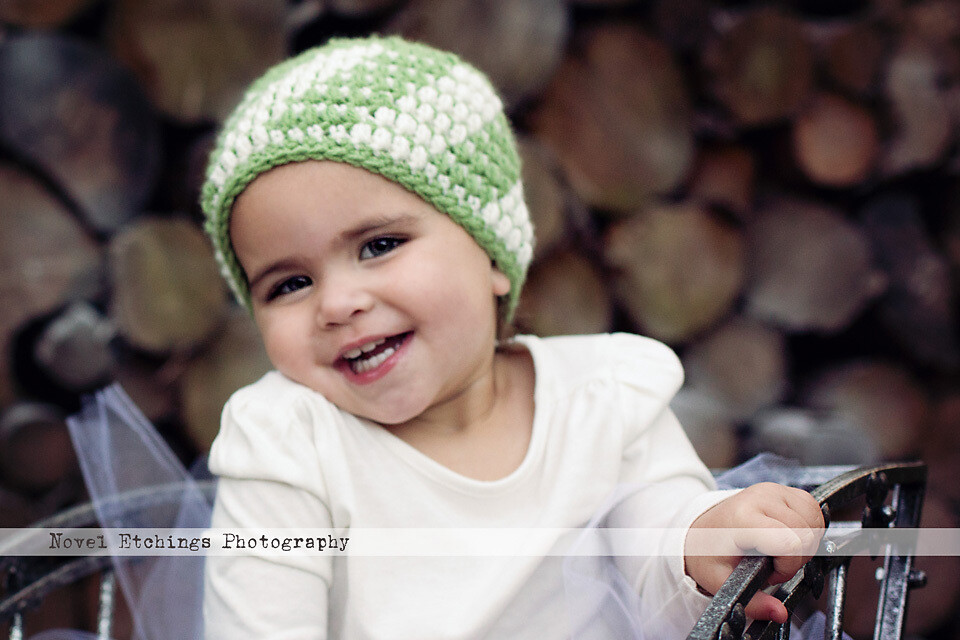 Mini Chevron Beanie Crochet Pattern