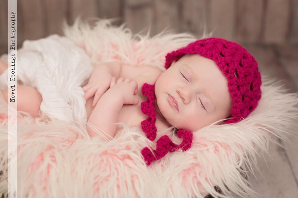 Olivia Bonnet Crochet Pattern