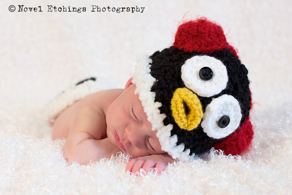 Penguin Baby Crochet Pattern