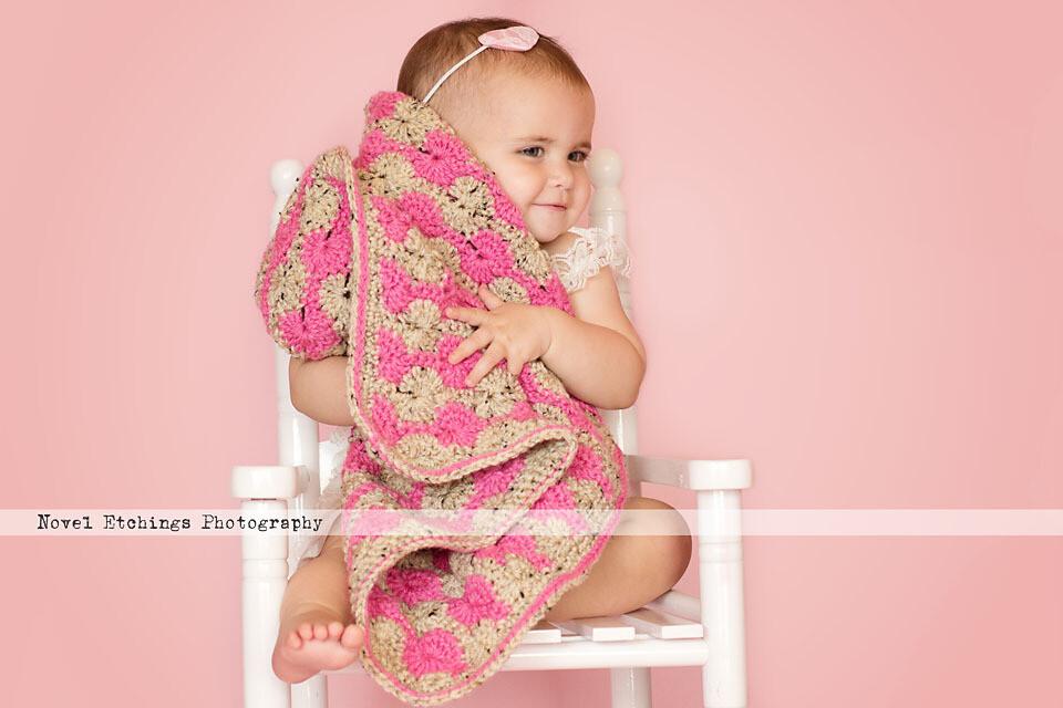 Perfect Pinwheel Blanket Crochet Pattern