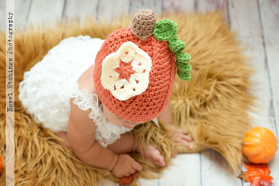 Pumpkin Beanie Crochet Pattern