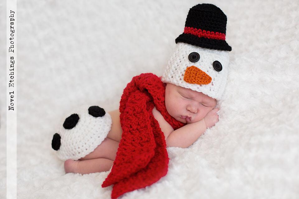 Snowman Baby Crochet Pattern