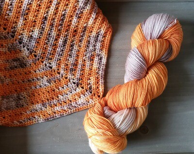 Autumn Shawl Crochet Kit