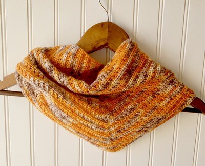 Autumn Shawl Crochet Pattern
