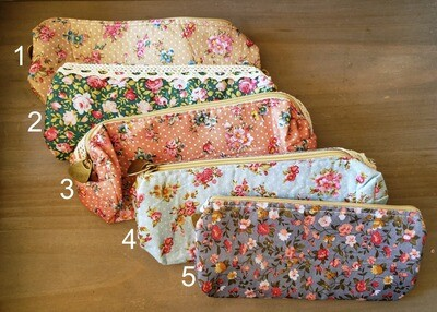 Floral Notions Bag
