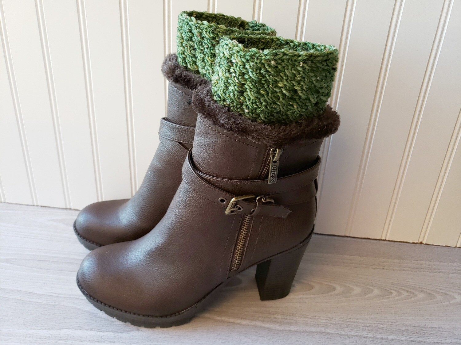 Willow Boot Cuffs Crochet Pattern