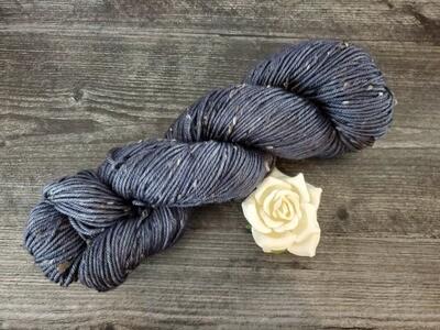 Midnight Tweed Hand Dyed Yarn