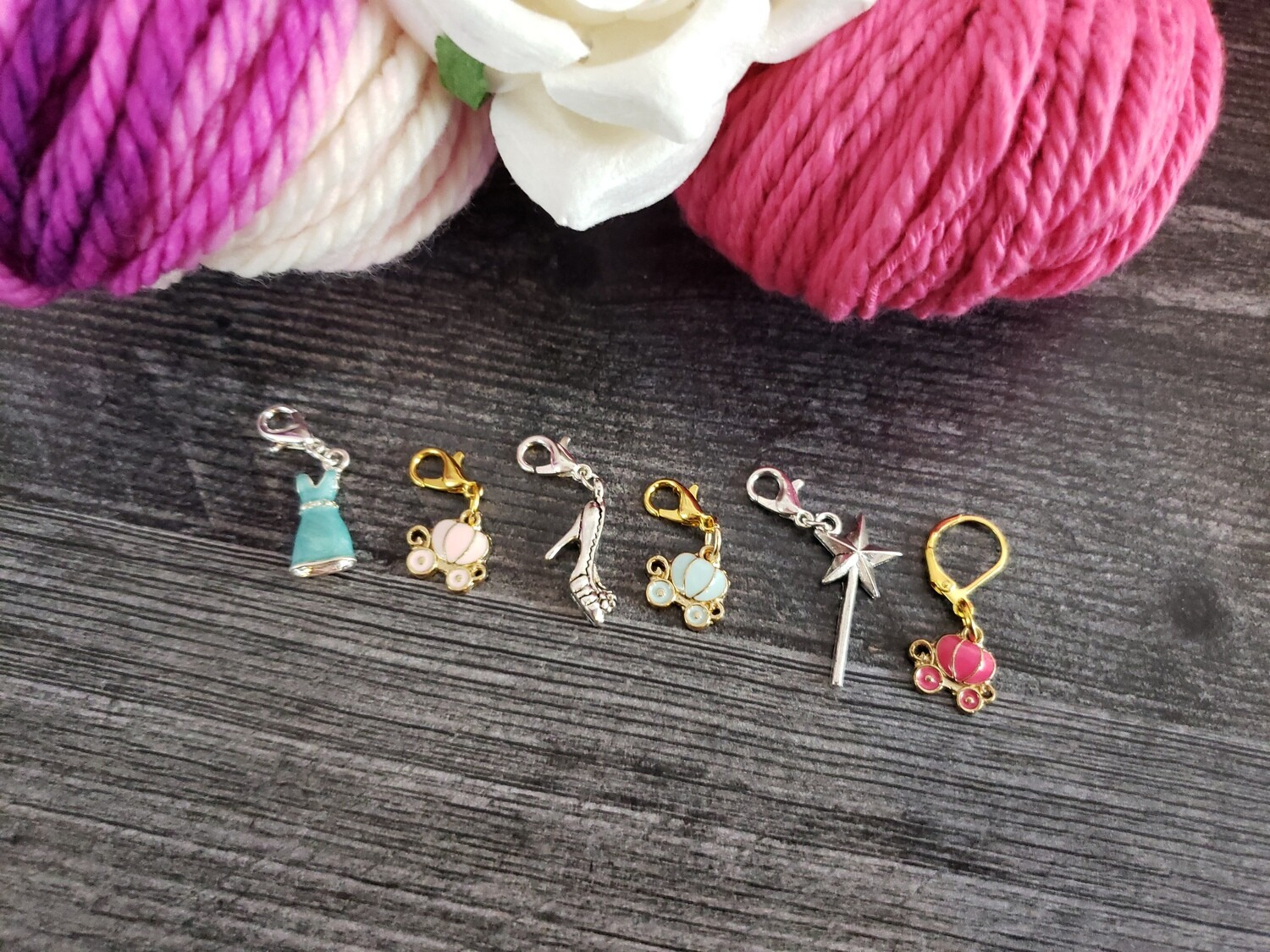 Dream is a Wish Stitch Marker Set