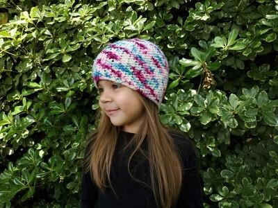 Seashell Beanie Crochet Pattern