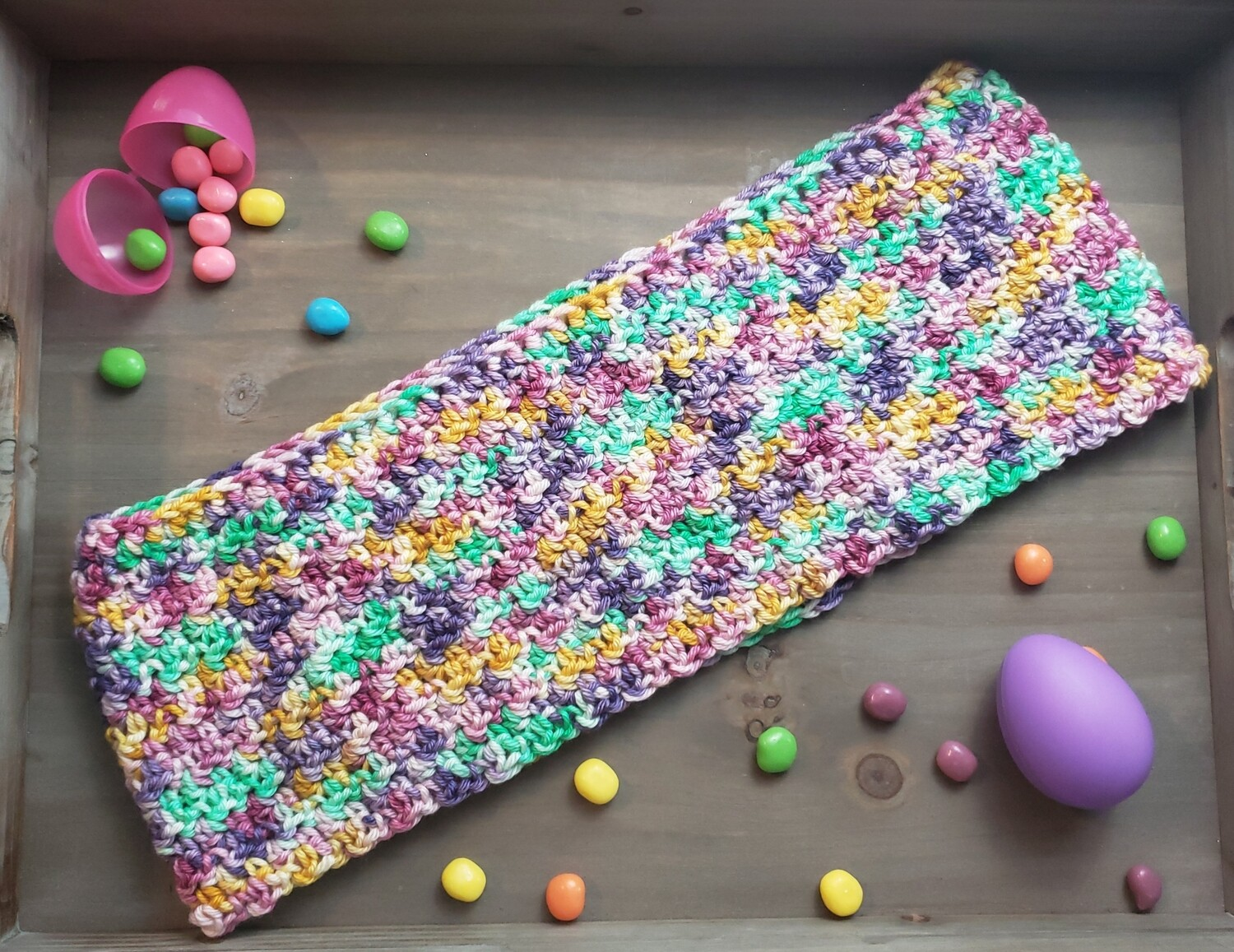 Spring Time Cowl Crochet Pattern
