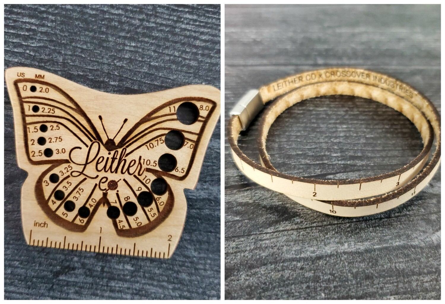 Spring Butterfly Hook Gauge and Wrist Ruler
