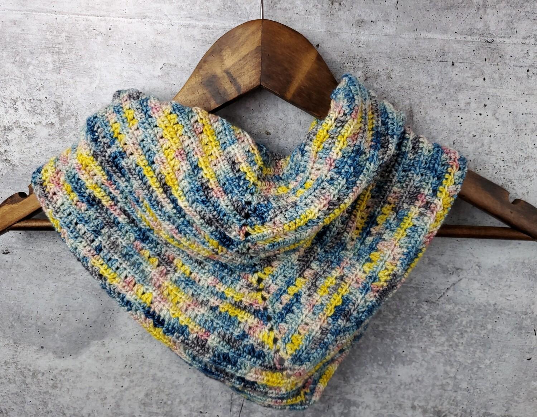 April Showers Shawl Crochet Pattern