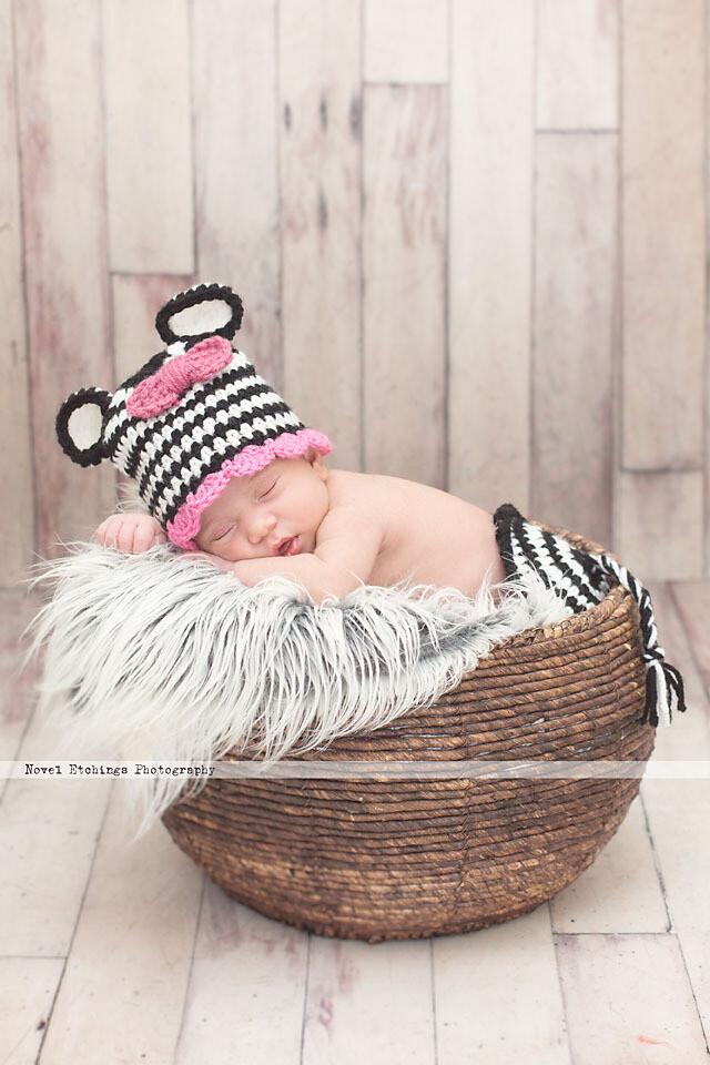 Zebra Baby Crochet Pattern