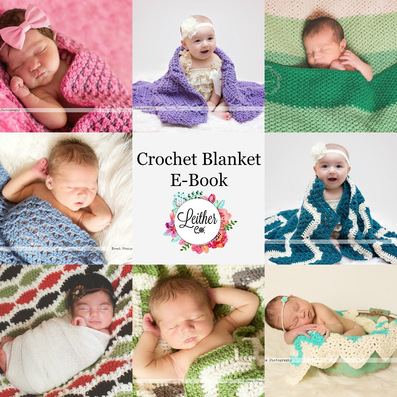 Get Hooked on Crochet Blankets E-Book