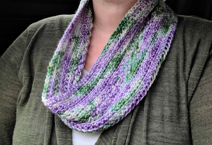 Wildflowers Cowl Crochet Pattern