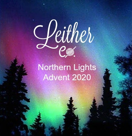 Northern Lights Christmas Advent Calendar Yarn Box