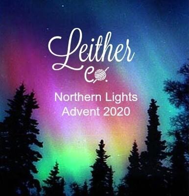 Northern Lights Christmas Advent Calendar Yarn Box