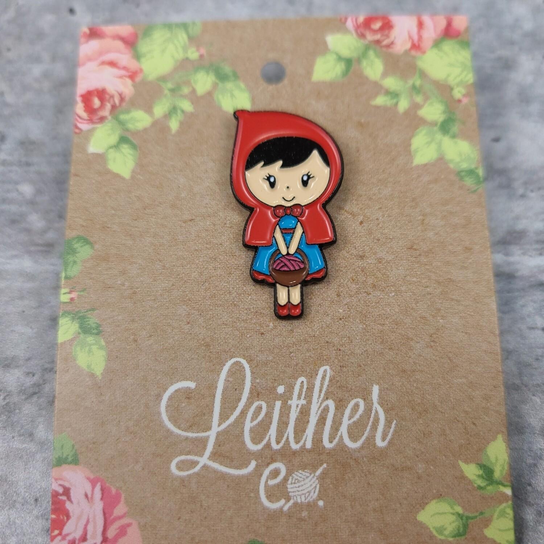 Little Red Riding Hood Enamel Pin