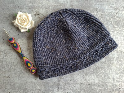 Midnight Beanie Crochet Kit