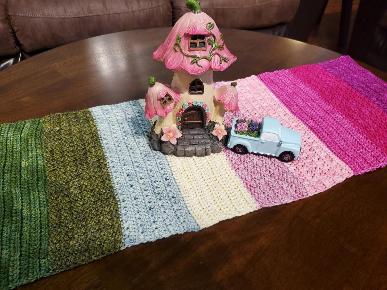 Blossom Table Runner Crochet Pattern