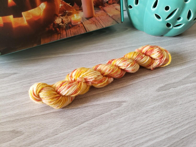 Candy Corn Hand Dyed Yarn
