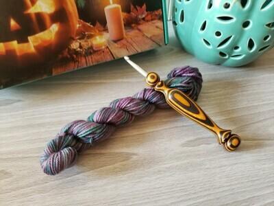 Hocus Pocus Hand Dyed Yarn