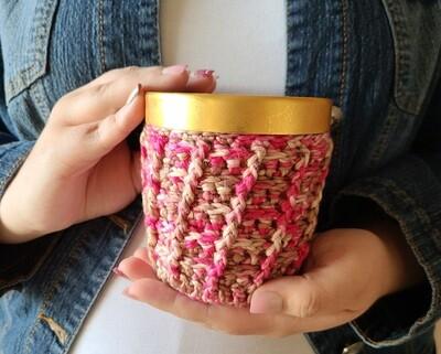 Neapolitan Ice Cream Cozy Crochet Pattern
